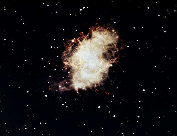 messier 1,m1 visible light