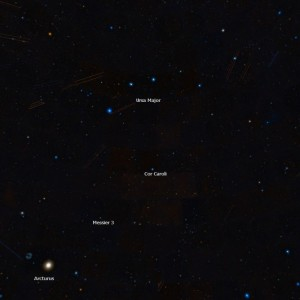 find messier 3,ngc 5272 location