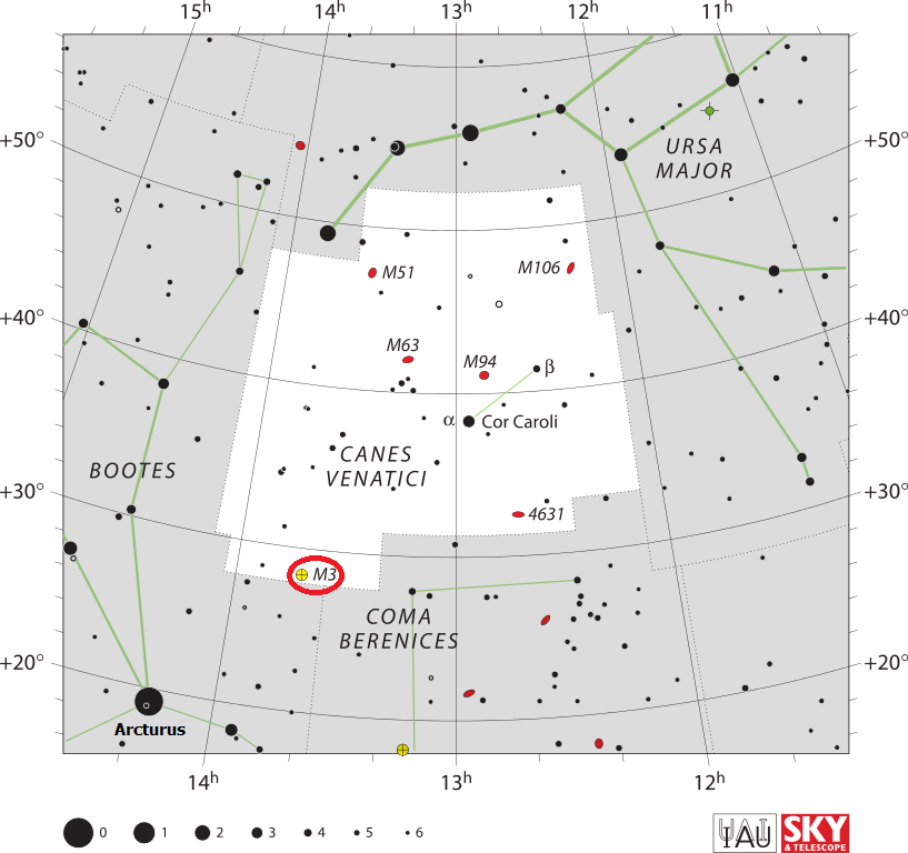 m3 location,finding messier 3