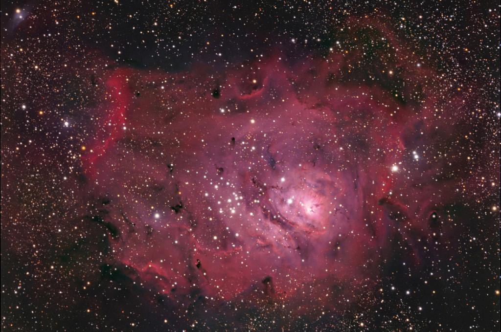 m8,lagoon nebula