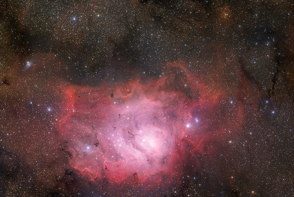 messier 8,m8,lagoon nebula