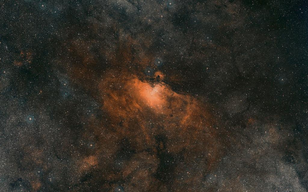 messier 16,eagle nebula