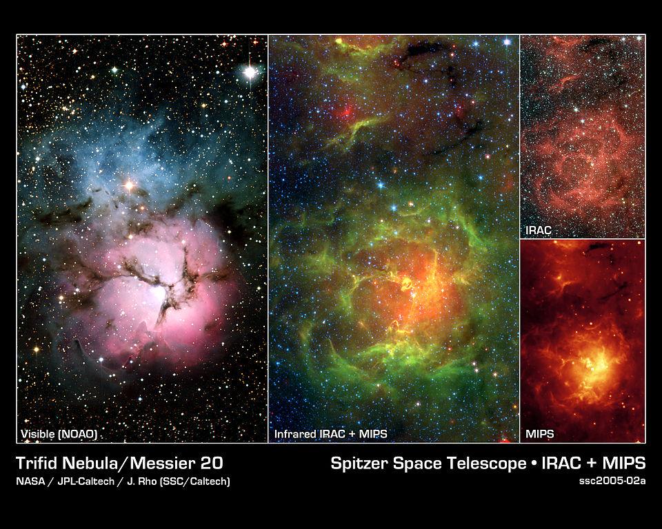 trifid nebula,messier 20
