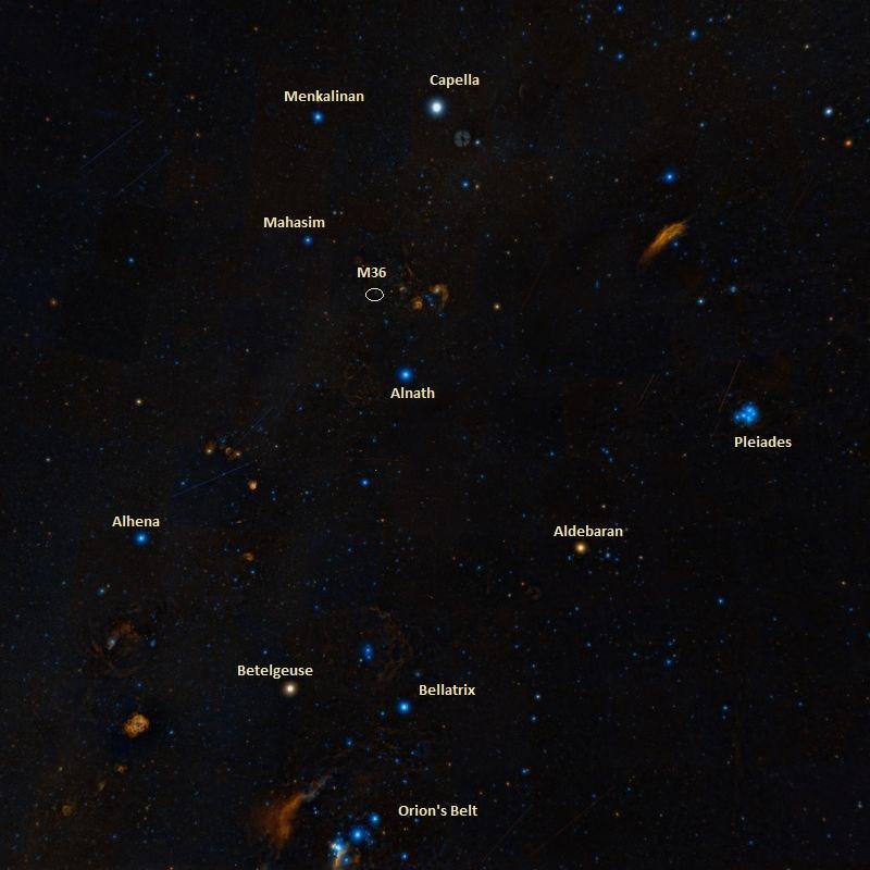 pinwheel cluster find