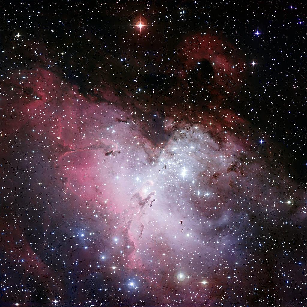 eagle nebula,the spire