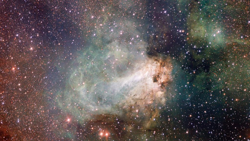 omega nebula,swan nebula,m17