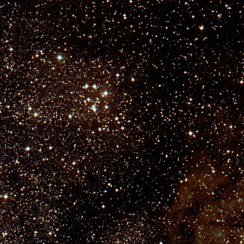 m18,ngc 6613,open cluster
