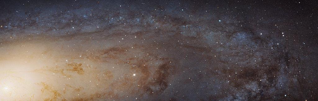 andromeda galaxy detail,m31 hubble