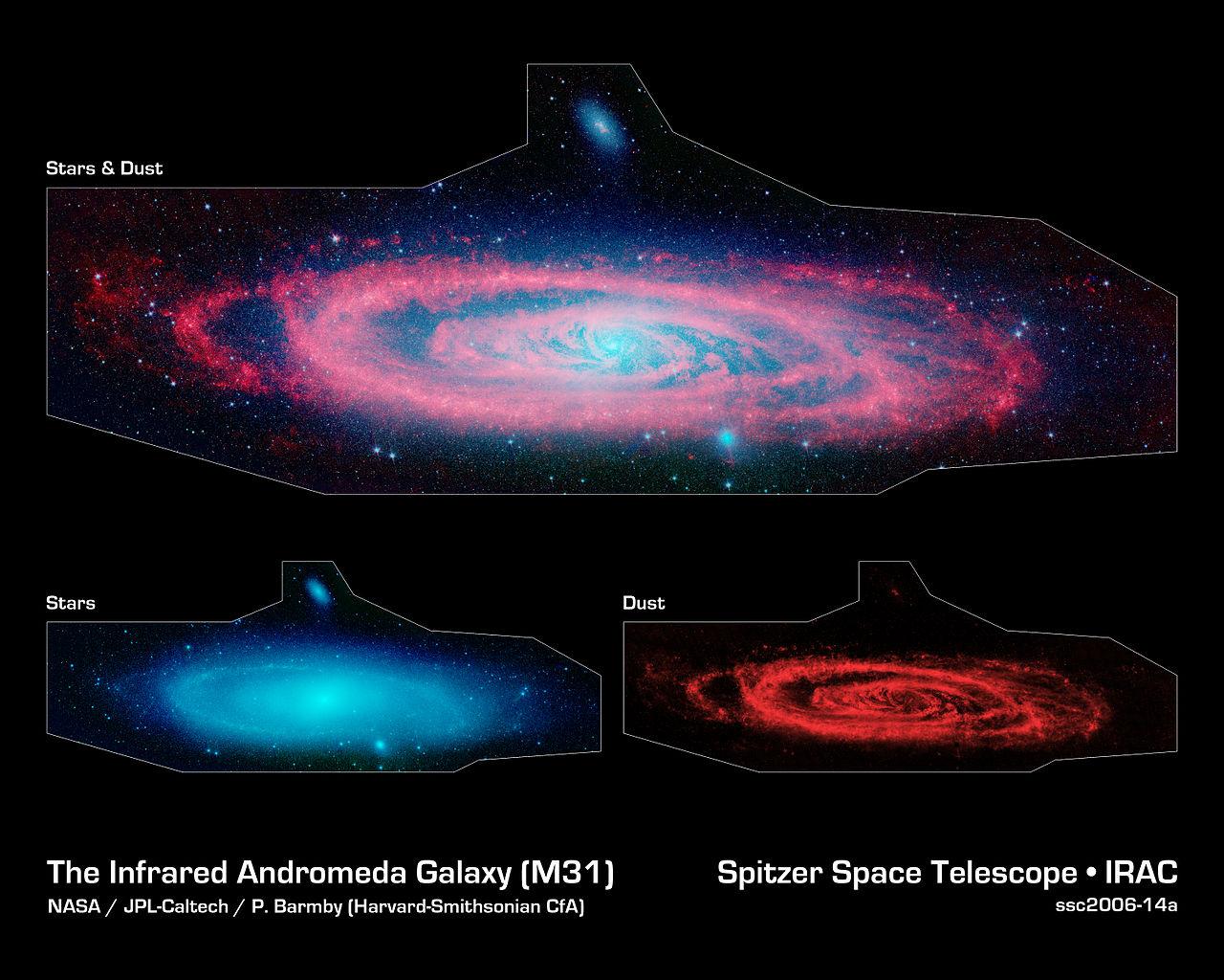 andromeda galaxy life