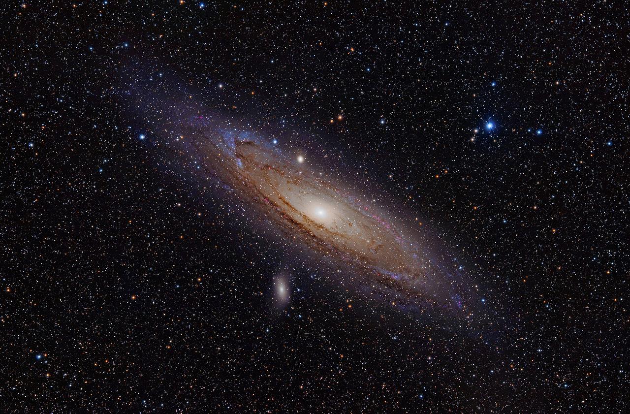 andromeda galaxy,ngc 224