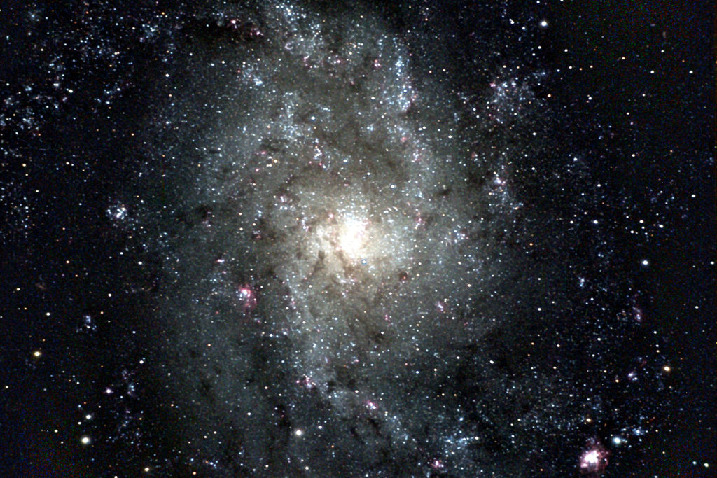 messier 33,triangulum galaxy,spiral galaxy
