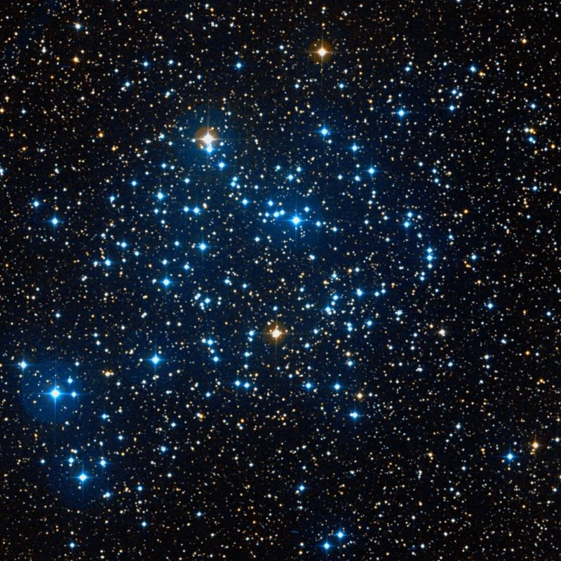 m35,open cluster in gemini