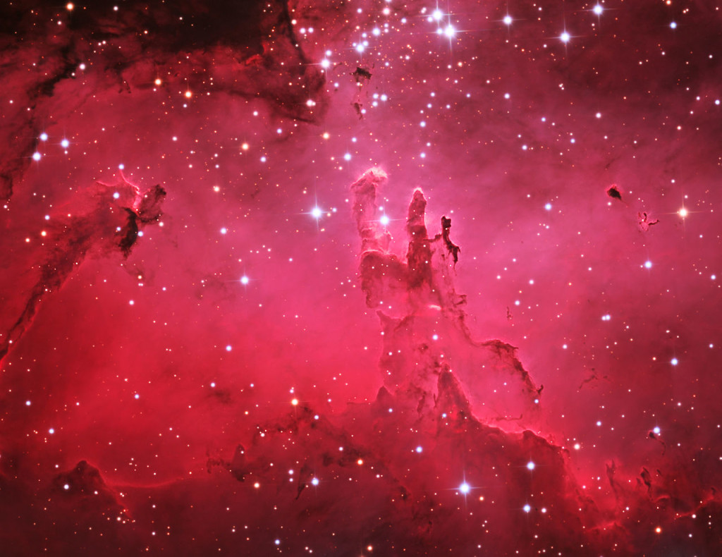 pillars of creation,messier 16