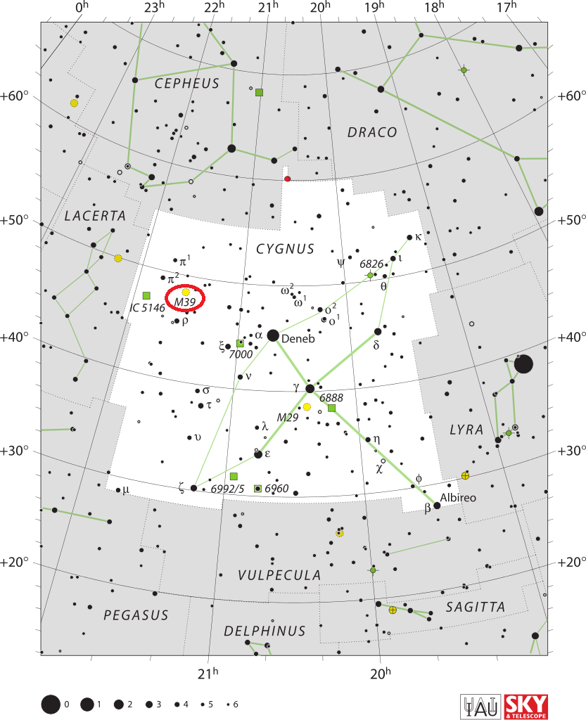 m39 location,find messier 39,where is m39