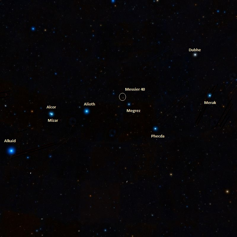 m40 location,find messier 40,where is winnecke 4