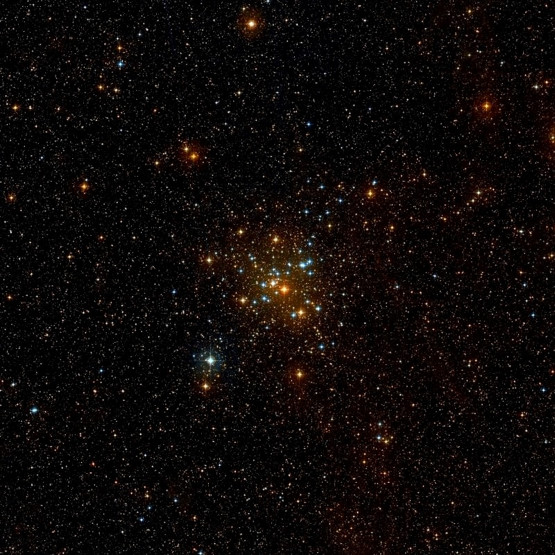 m41,open cluster in canis major,ngc 2287
