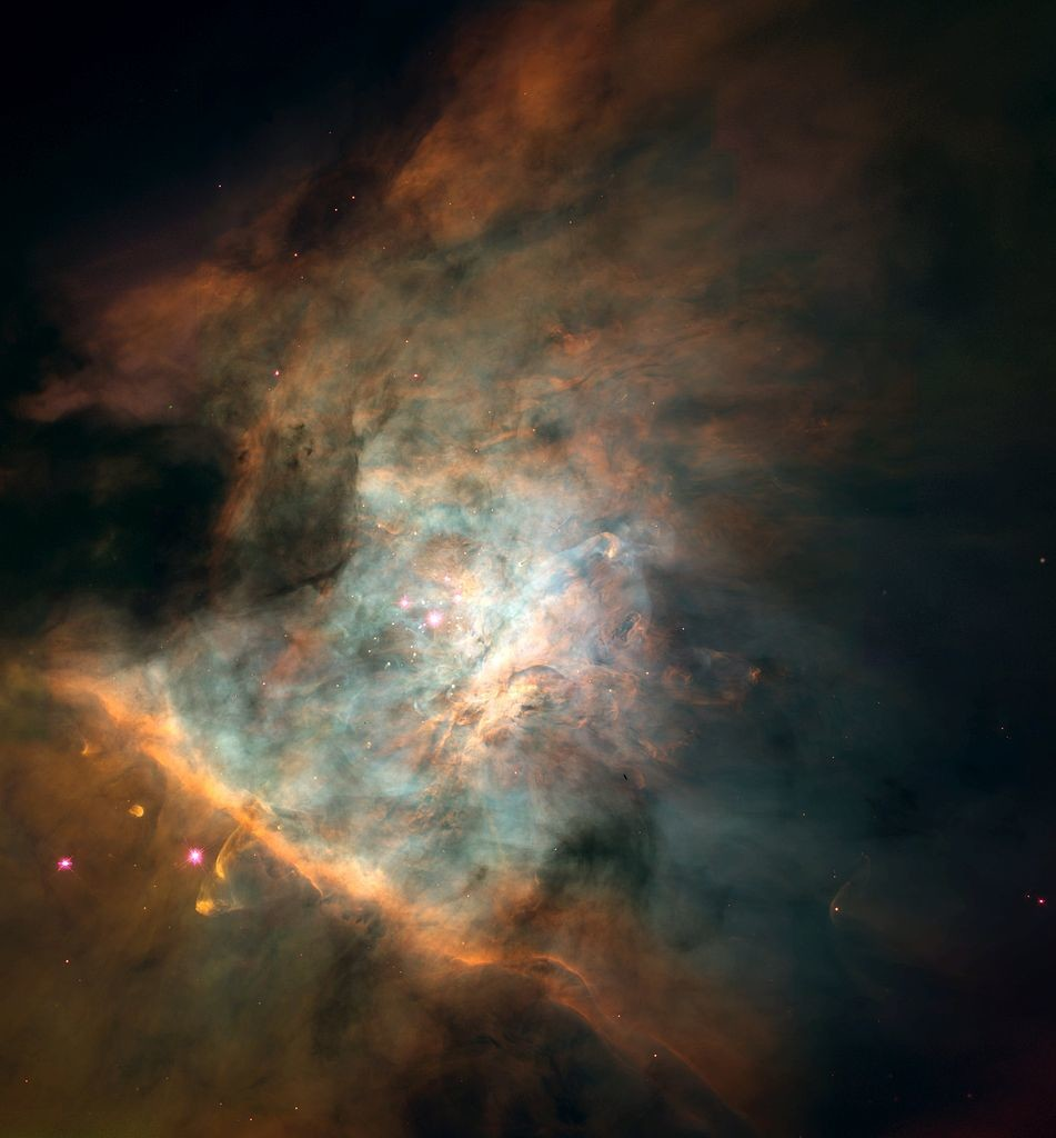 orion nebula hubble