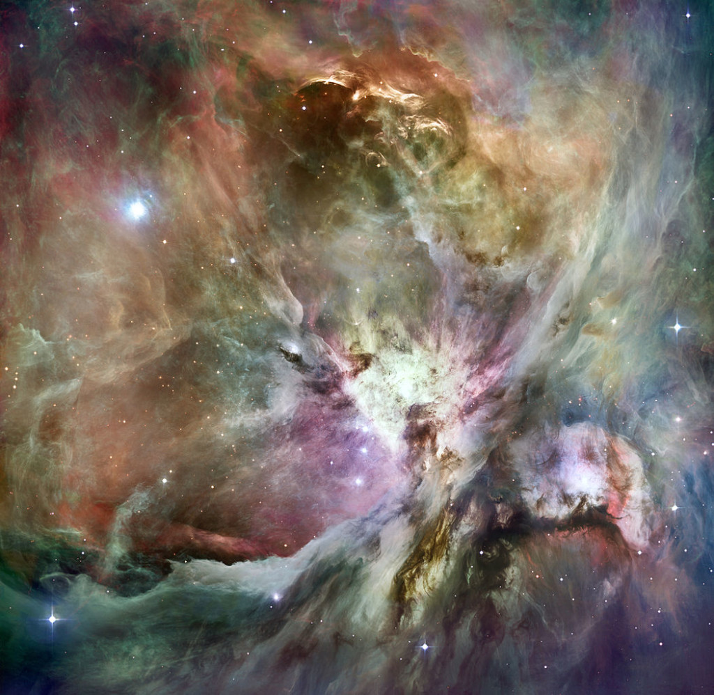 orion nebula hubble,orion nebula spitzer,orion nebula composite