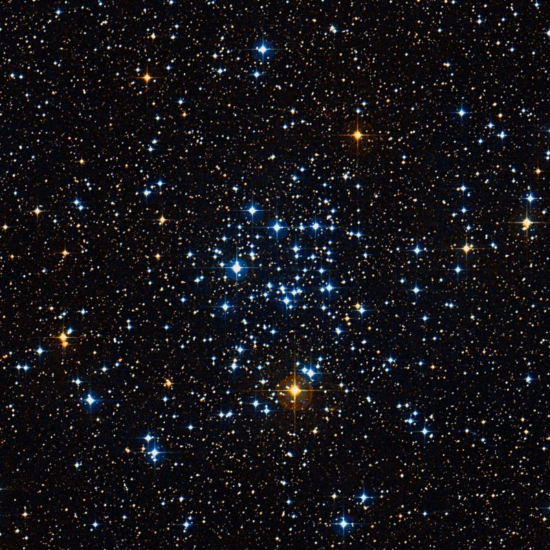 m50,heart shaped cluster,ngc 2323