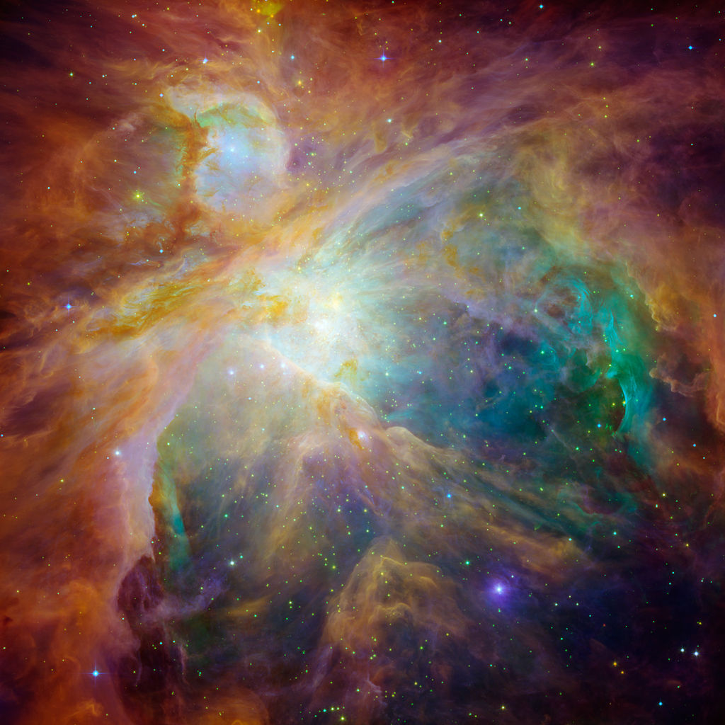 messier 42 composite,messier 42 nasa, orion nebula nasa