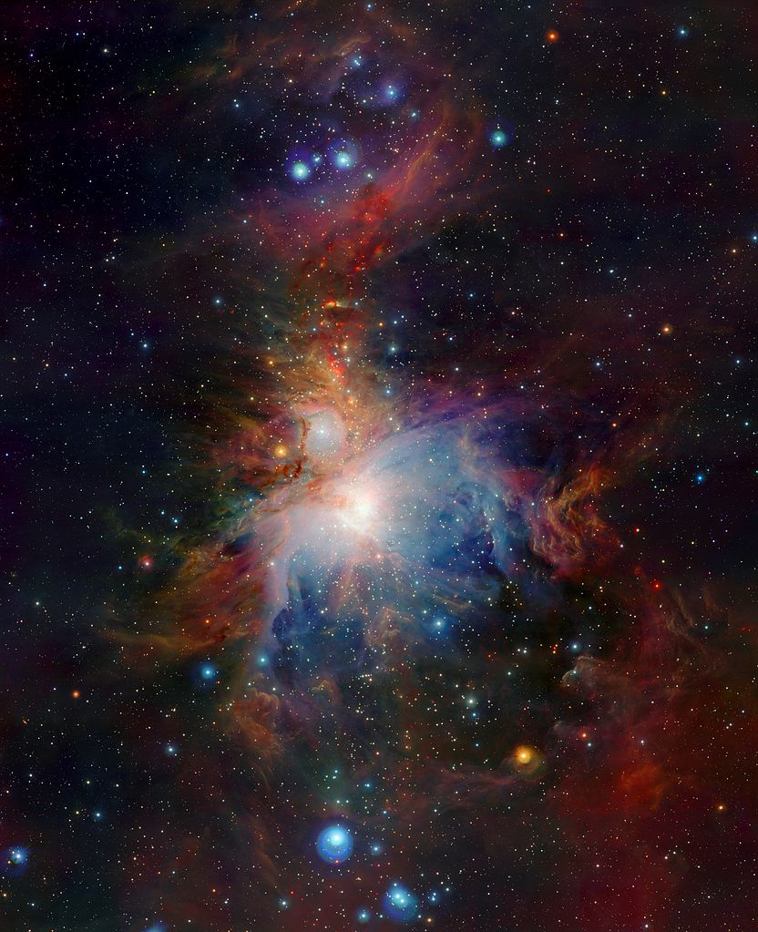 messier 42 widefield,orion nebula widefield