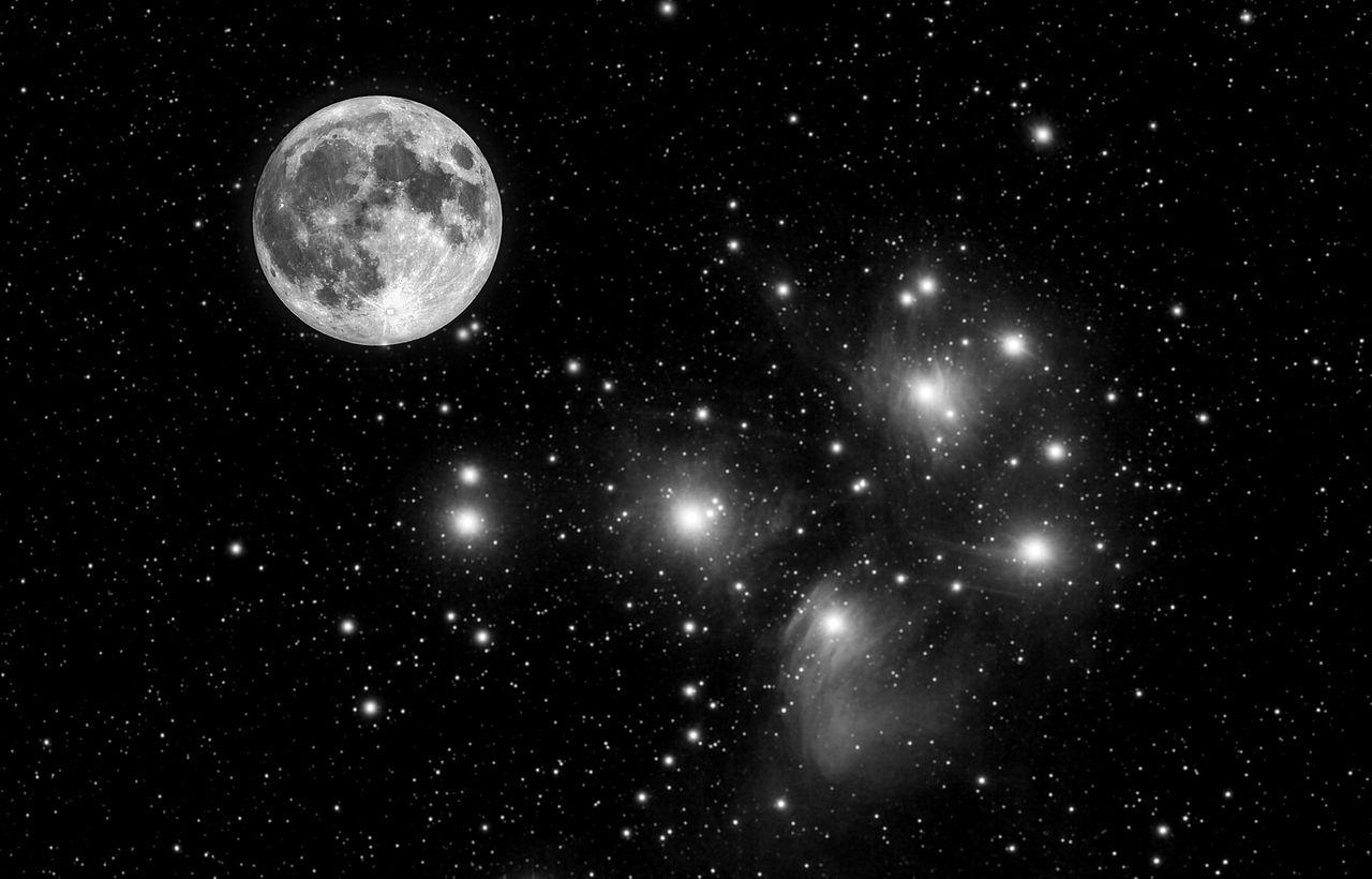 pleiades,pleiades nebulae
