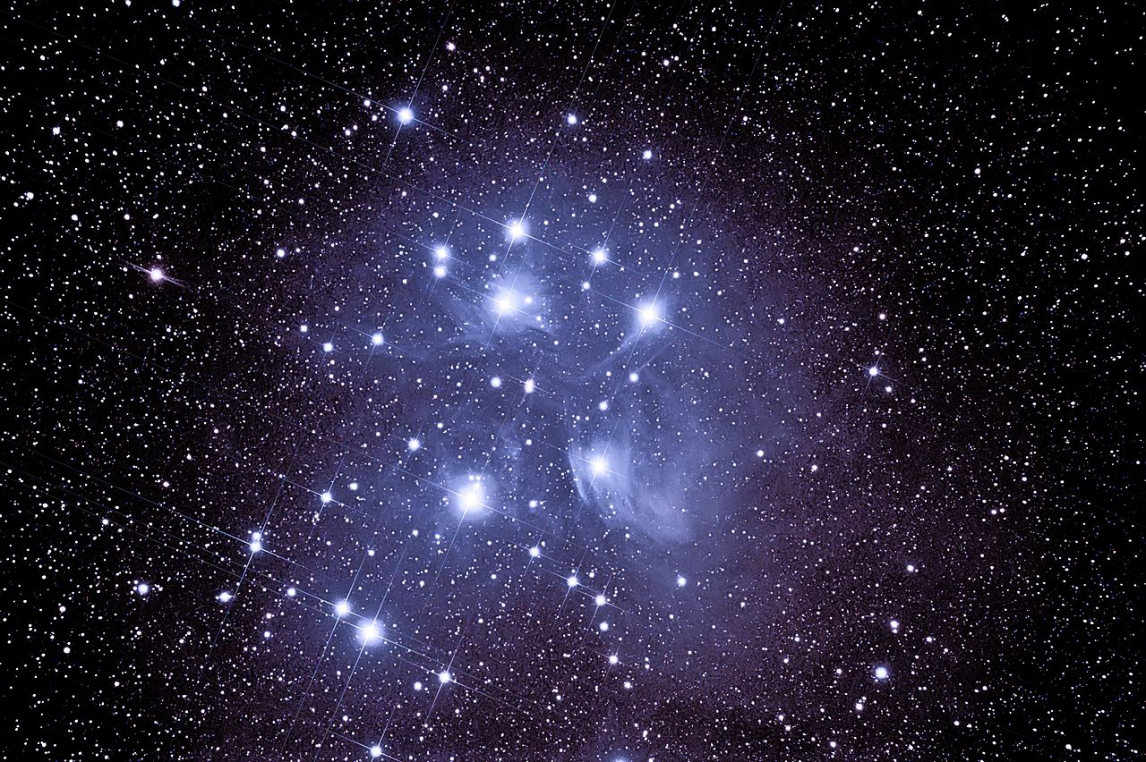 pleiades star cluster hubble - photo #26