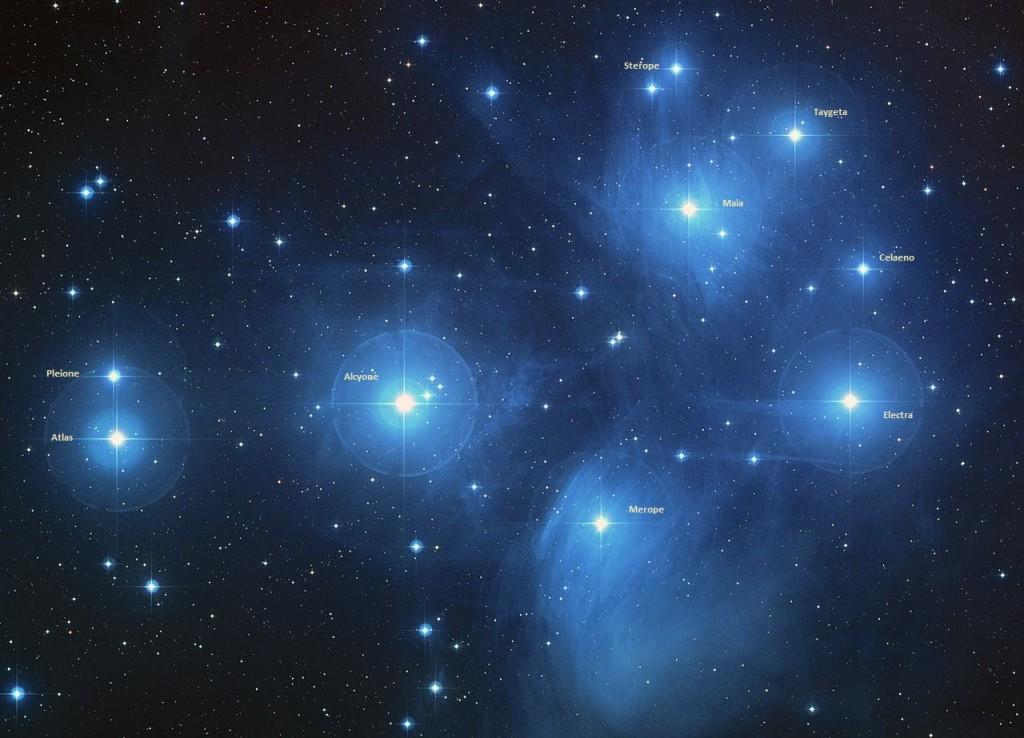 m45 stars,m45 cluster,messier 45