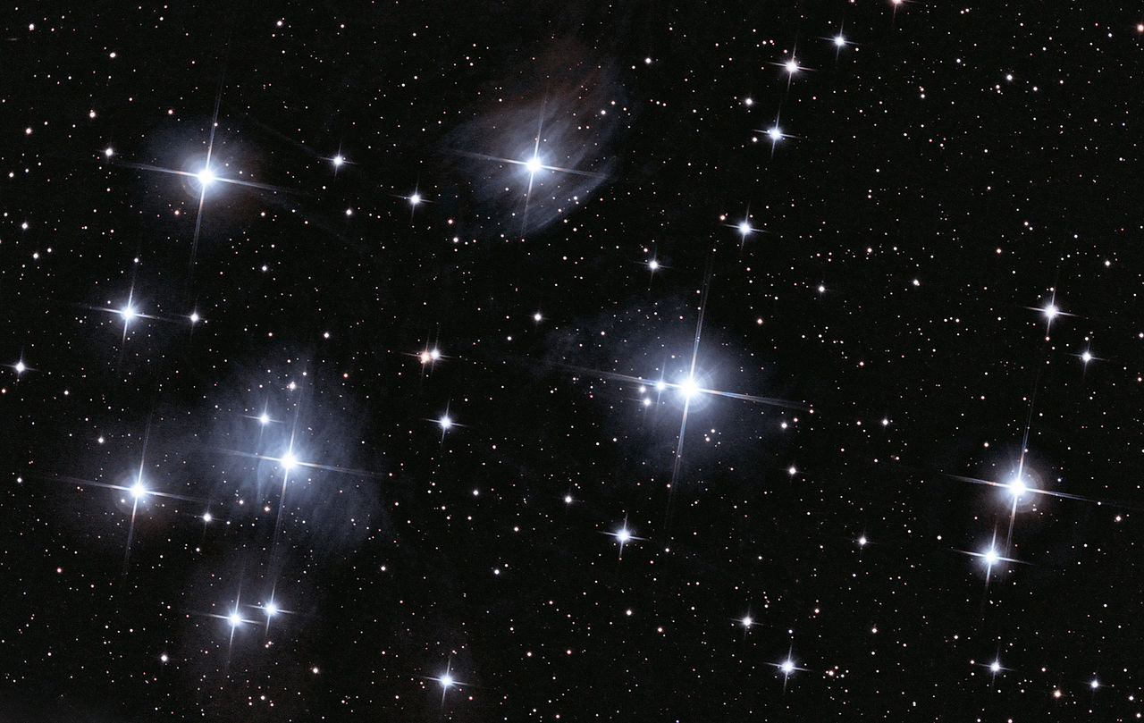 pleiades reflection nebulae