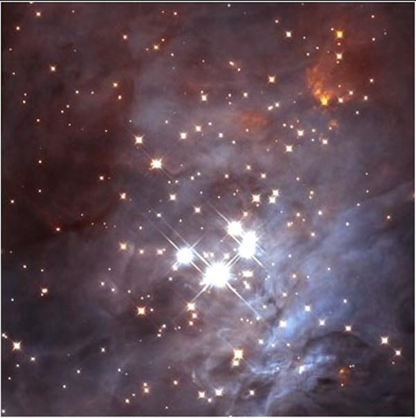 trapezium cluster,orion trapezium cluster
