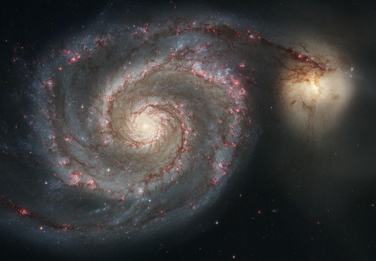 whirlpool galaxy,m51