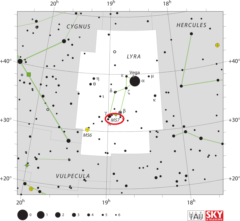 m57 location,ring nebula location,where is ring nebula,find messier 57