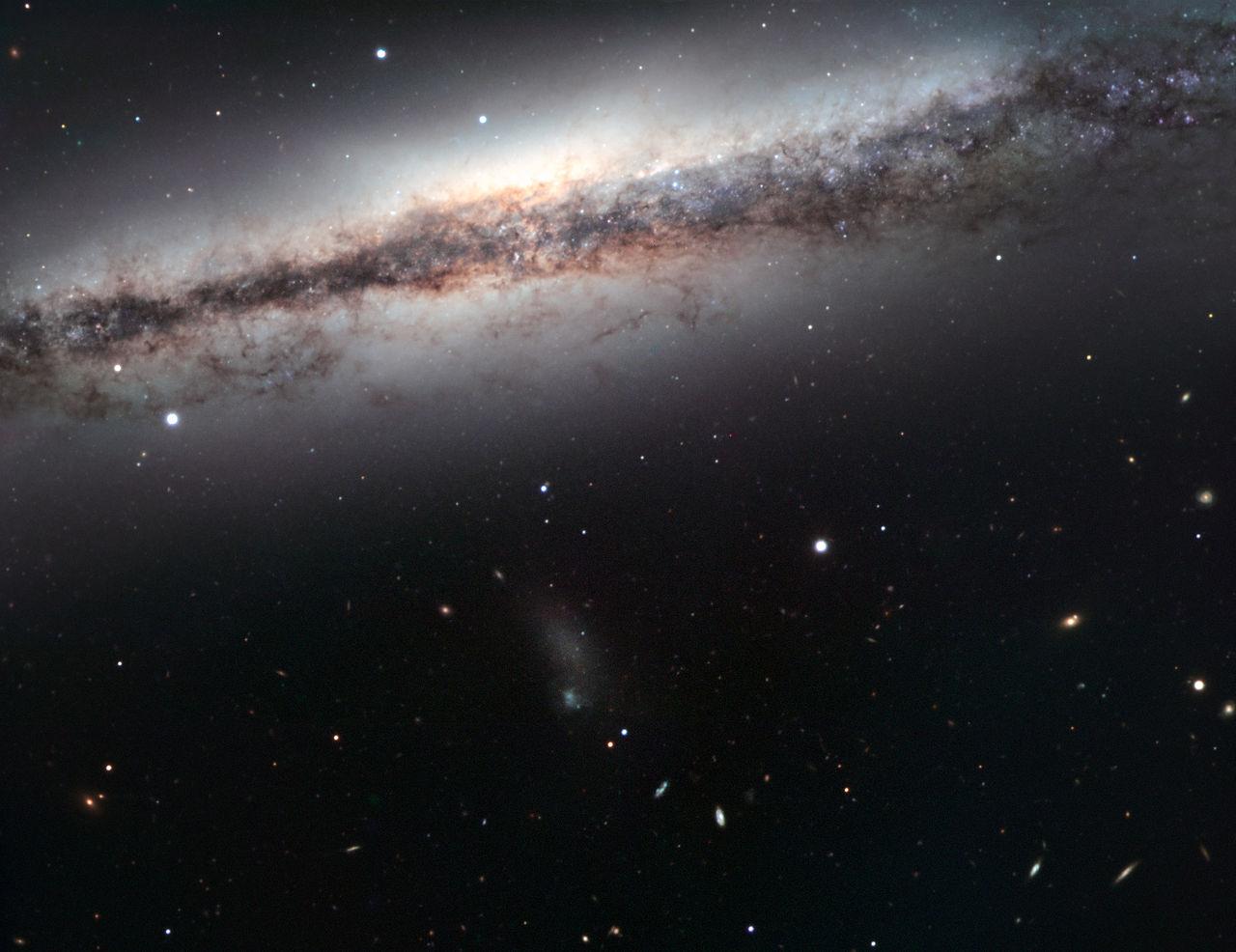 ngc 3628,sarah's galaxy