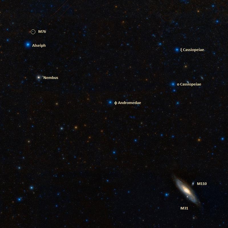 messier 76,messier 31,andromeda galaxy,little dumbbell nebula