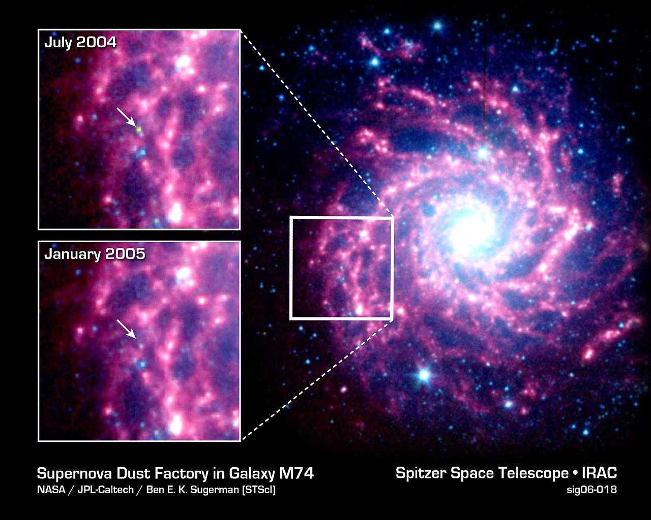 messier 74 supernova