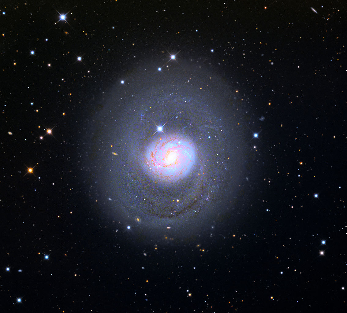 cetus a,messier 77,barred spiral galaxy