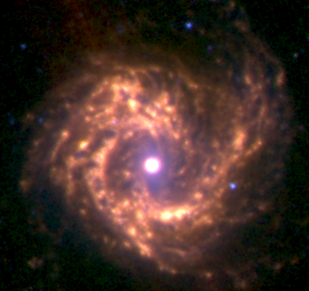 m61 infrared,messier 61 spitzer