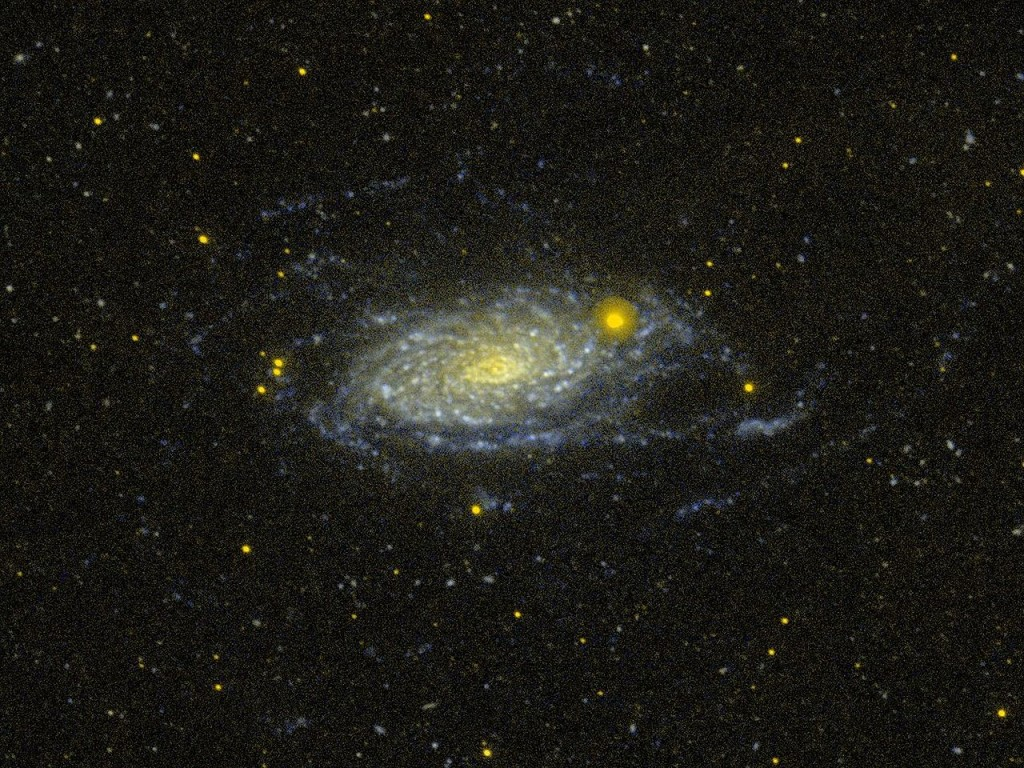 sunflower galaxy nasa