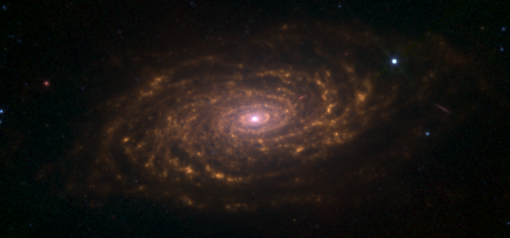 sunflower galaxy infrared