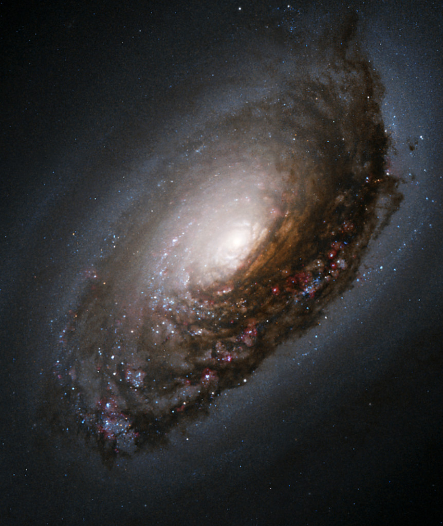 black eye galaxy,m64