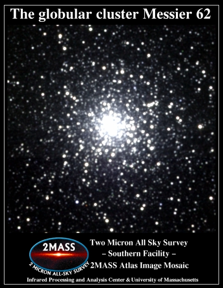 messier 62,m62,globular cluster in ophiuchus