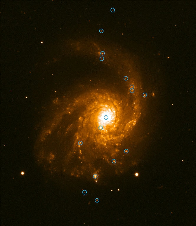 messier 99,star forming regions