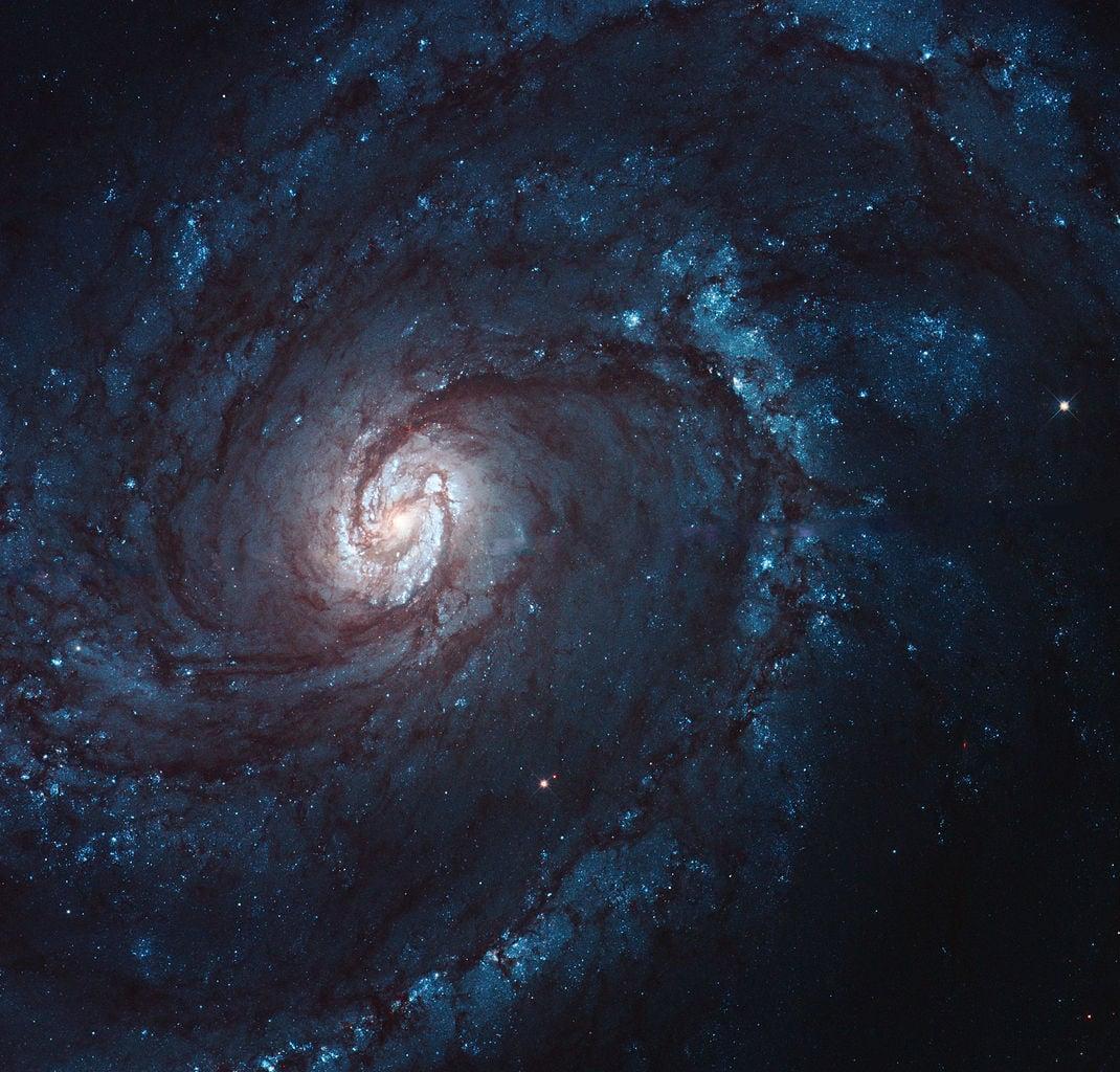 messier 100,m100 spiral galaxy