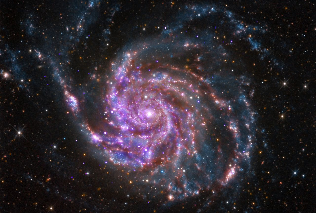 messier 101,pinwheel galaxy