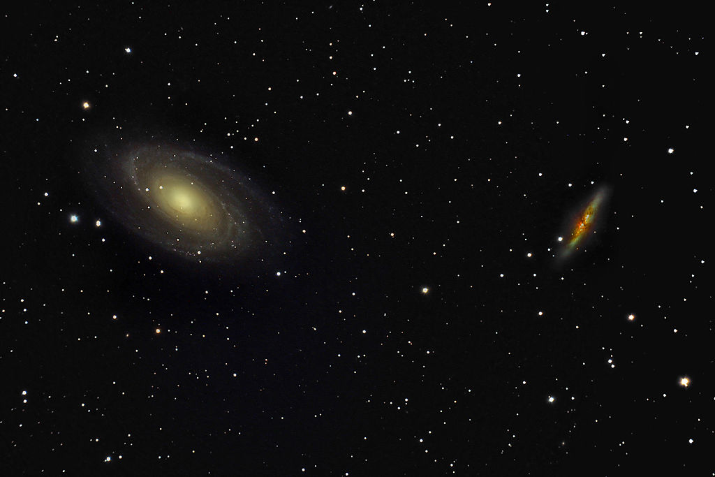 m82,m81,cigar galaxy,bode's galaxy,ursa major galaxies