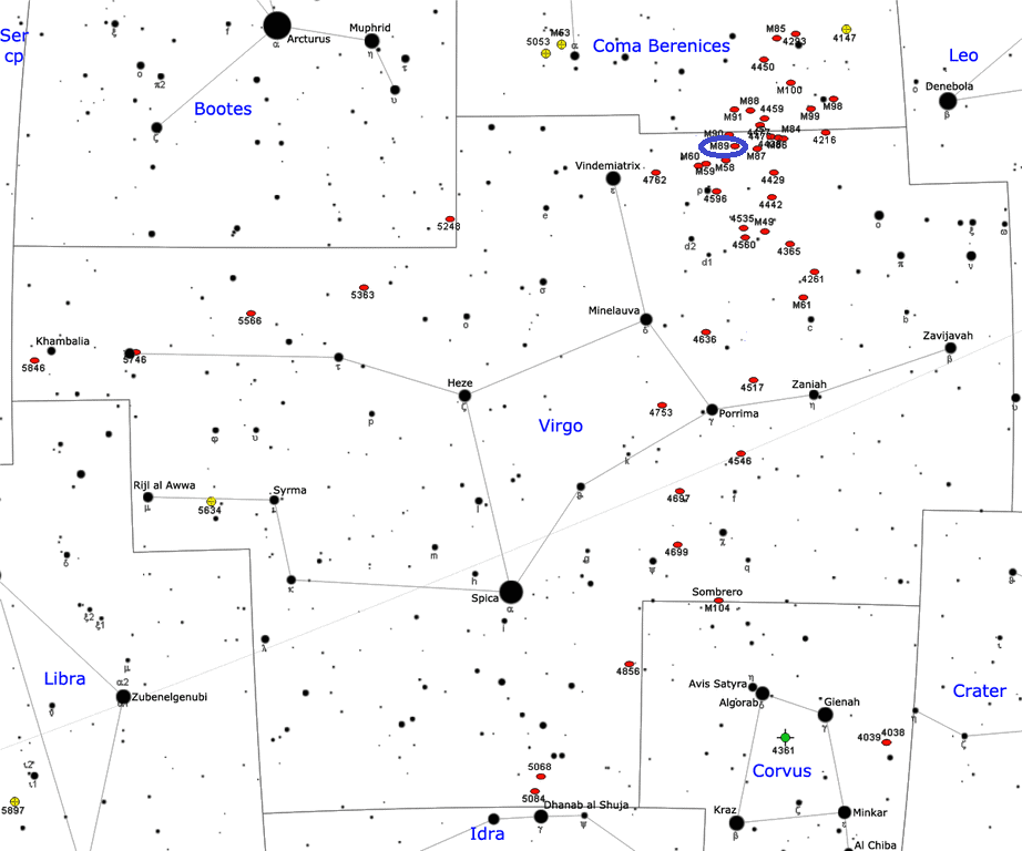 m89 location,m89 position,find messier 89