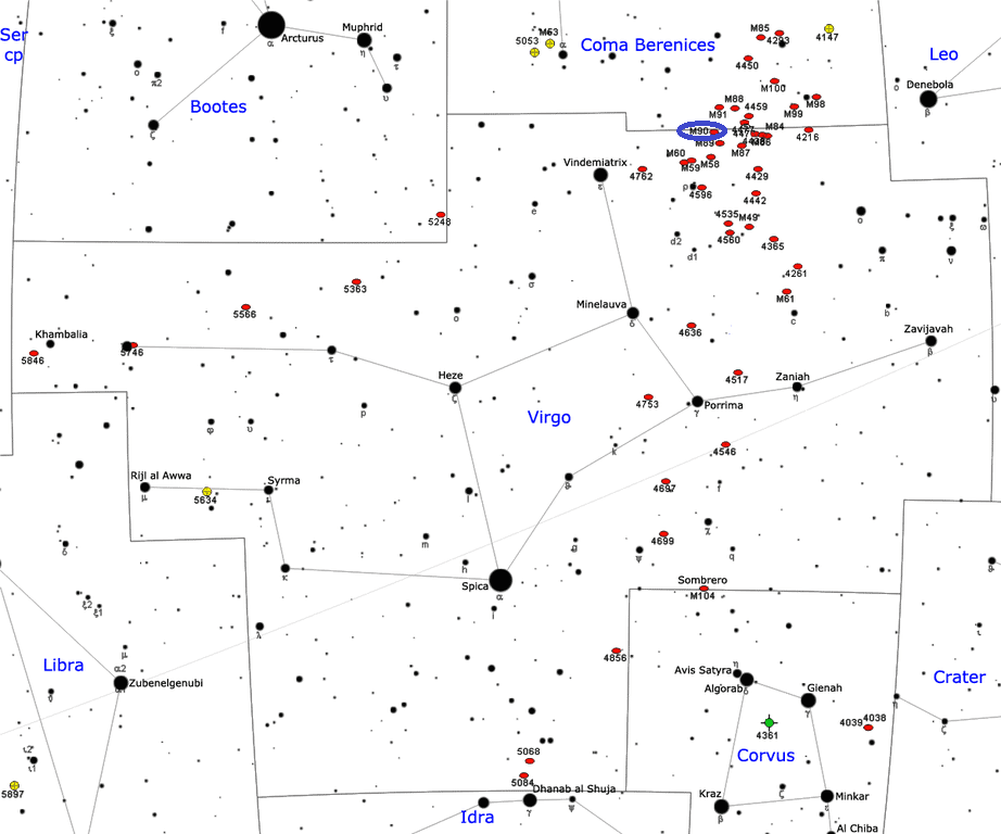 m90 location,where is messier 90,find m90