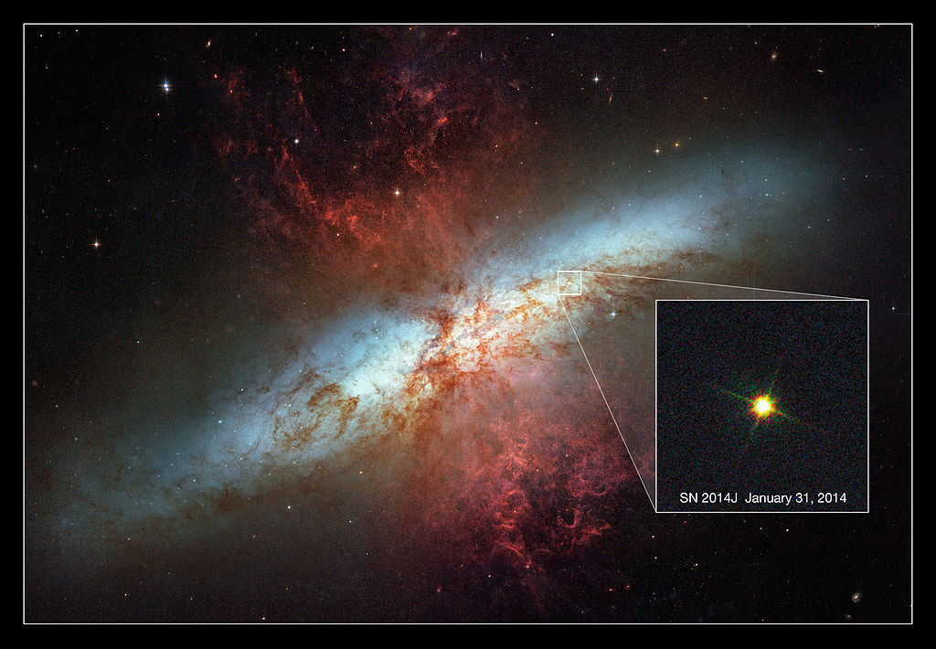 m82 supernova,cigar galaxy supernova