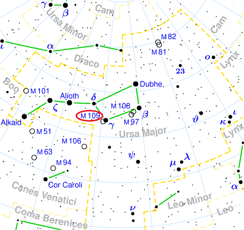 m109 location,find messier 109,where is m109 galaxy