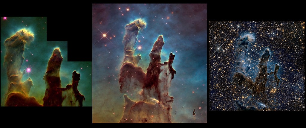 pillars of creation,eagle nebula,m16